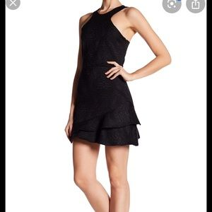 NEW NWT Parker Barcelona Black Dress Small